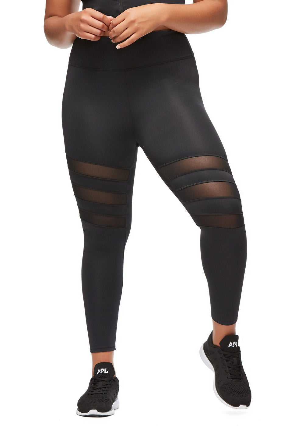 THE BREAK THROUGH CROP LEGGING | BLACK001