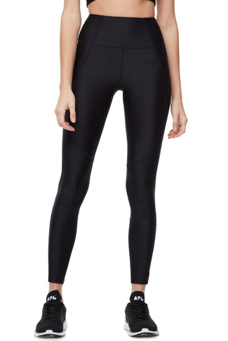 THE CORE STRENGTH GLOSS LEGGING | BLACK003