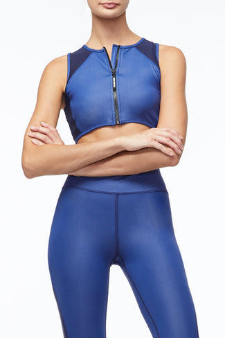 THE POWER SPORTS BRA | BLUE001