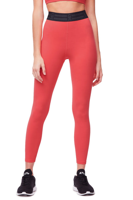 db773dab4a Good American High Waisted Icon 7/8 Legging Coral001