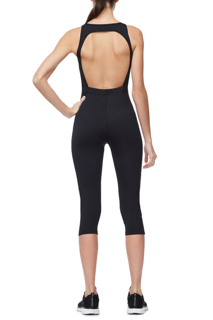 THE POWER MESH JUMPSUIT | BLACK001