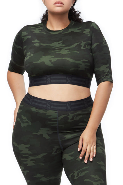 THE ICON CROP TOP | CAMO001