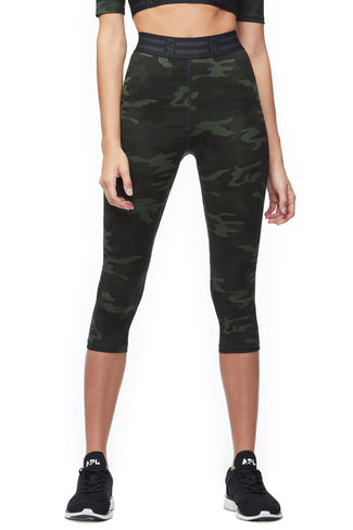 THE ICON CAPRI LEGGING | CAMO001