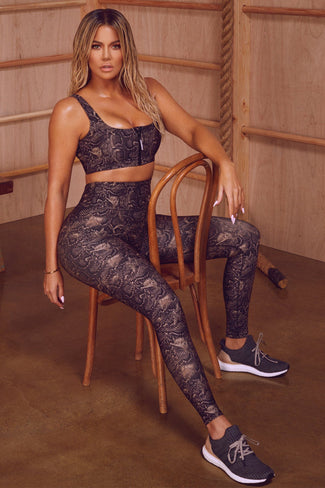 THE CORE STRENGTH LEGGING | SNAKE001