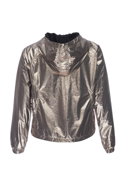THE MEDAL-WINNING RUNNING JACKET | BRONZE METALLIC001
