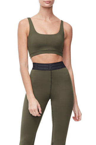 THE TRUE STRENGTH SPORTS BRA | OLIVE002