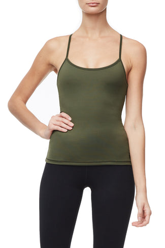 THE SUPPORT TANK | OLIVE002