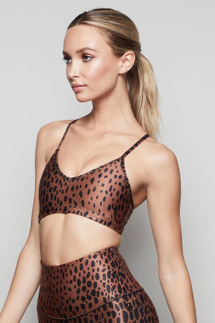 THE BARELY THERE BRALETTE | CHEETAH001