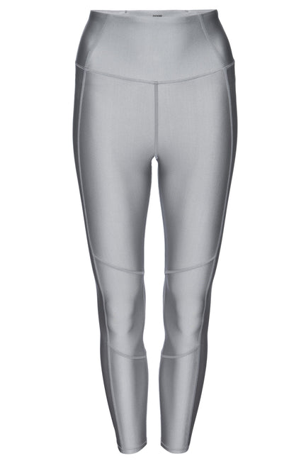 THE CORE STRENGTH 7/8 LEGGING | SILVER001