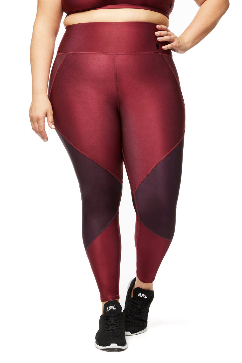 THE FREESTYLE LEGGING | BORDEAUX001