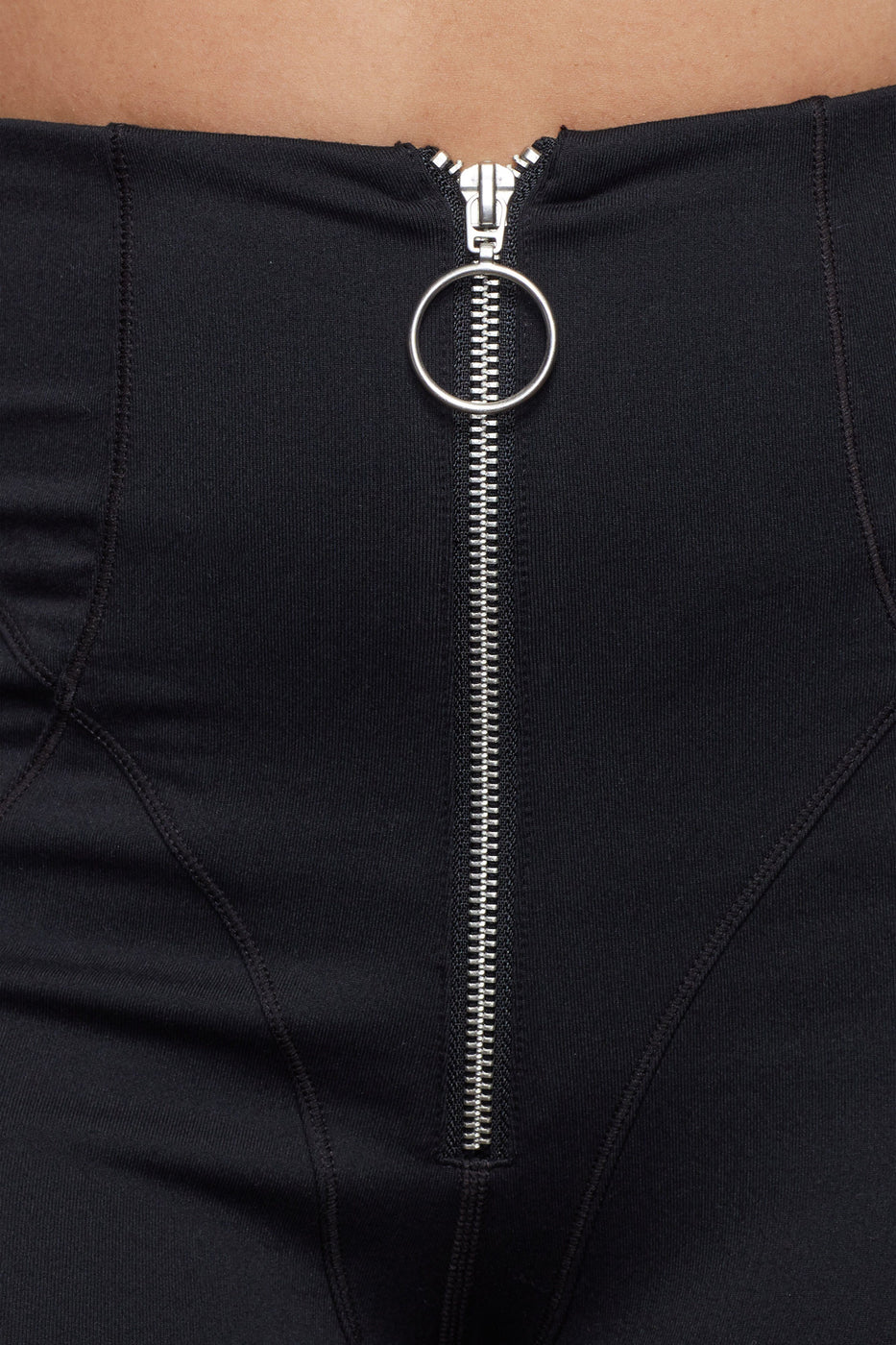 THE WARRIOR ZIP BIKE SHORT | BLACK001