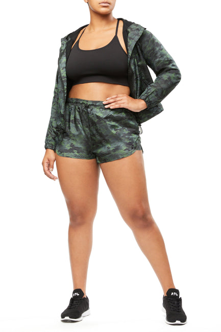 THE FAST TRACK RUNNING SHORT | CAMO002