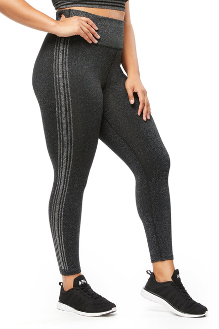 THE GAME POINT SEAMLESS 7/8 LEGGING | BLACK001