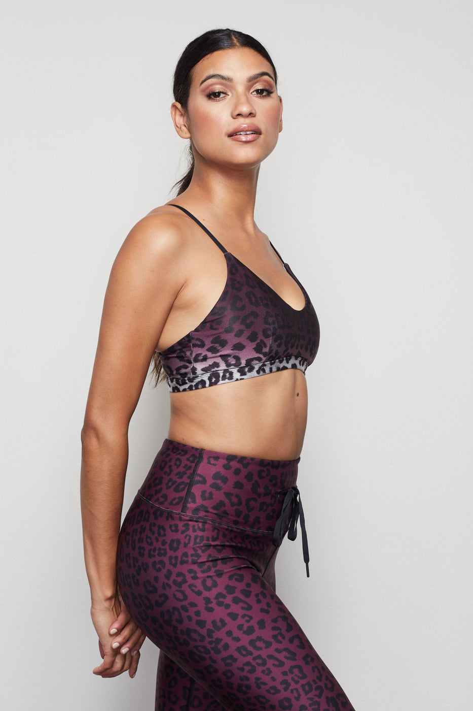 THE BARELY THERE SCOOP BRALETTE | LEOPARD002
