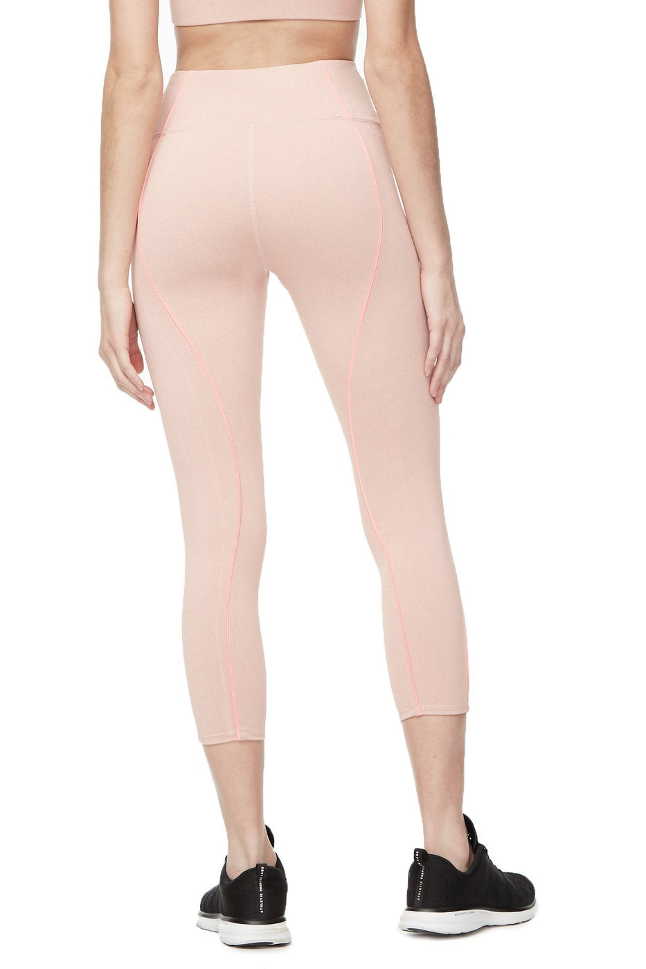 THE ELECTRIC FEEL 7/8 LEGGING | HEATHERED PINK001