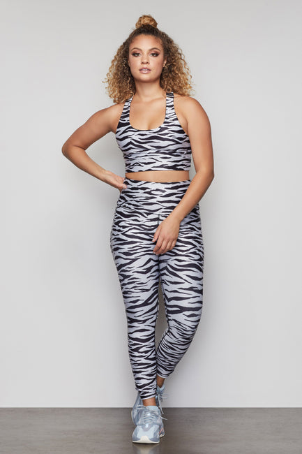 THE CORE STRENGTH LEGGING | ZEBRA001