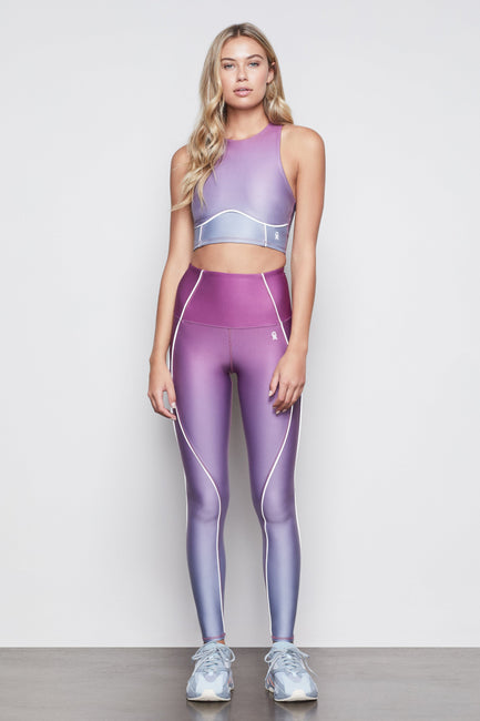 THE ELECTRIC FEEL OMBRE LEGGING | SUNSET001