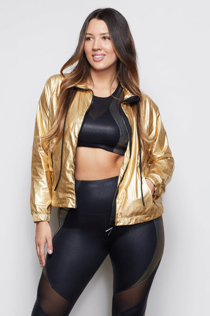 MEDAL-WINNING RUNNING JACKET | GOLD001