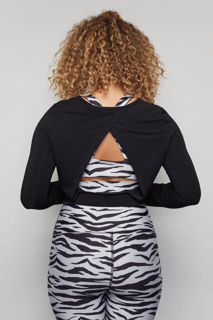 THE ALL IN OPEN-BACK TOP | BLACK001