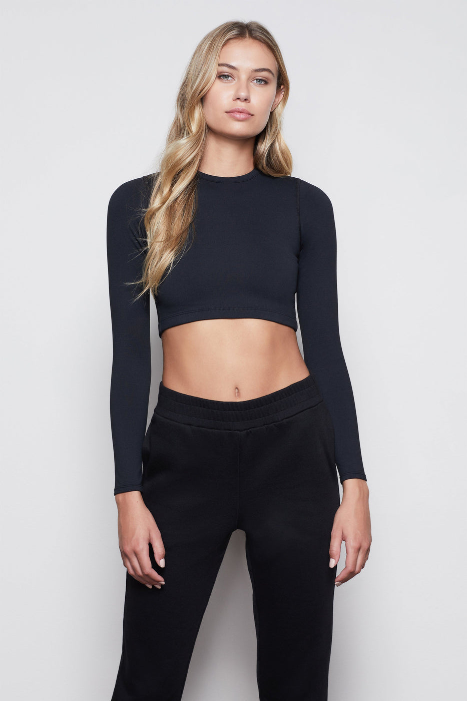 THE ALL TIED UP CROP TOP | BLACK001