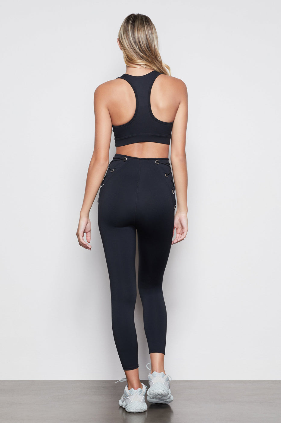 THE ALL TIED UP 7/8 LEGGING | BLACK001