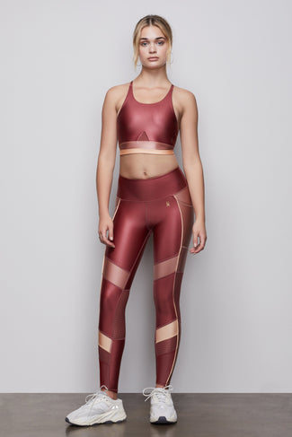 THE LIQUID MIX LEGGING | HIBISCUS001
