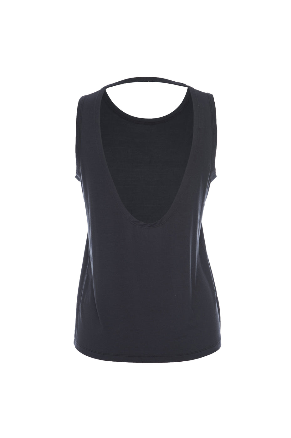 THE EASY BREEZY OPEN-BACK TANK | BLACK001