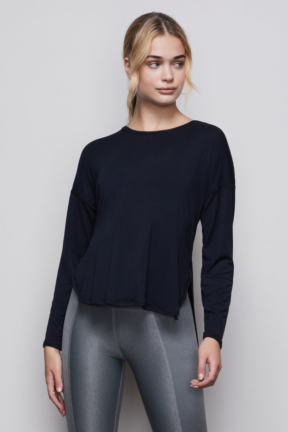 THE CRISS CROSS OPEN-BACK TOP | BLACK001
