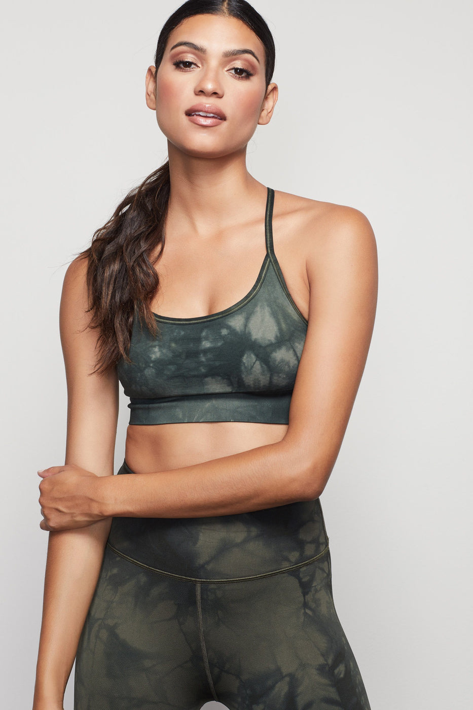THE SEAMLESS TIE DYE BRA | HUNTER002