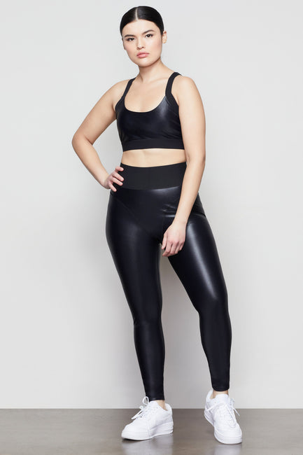 MIDNIGHT SHINE 7/8 LEGGING | BLACK001
