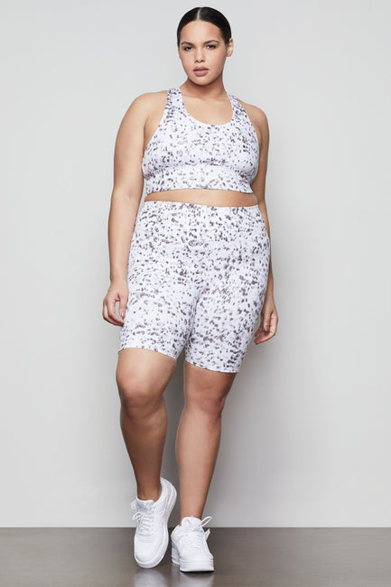 SHINING LEOPARD BIKE SHORT | HAZE001