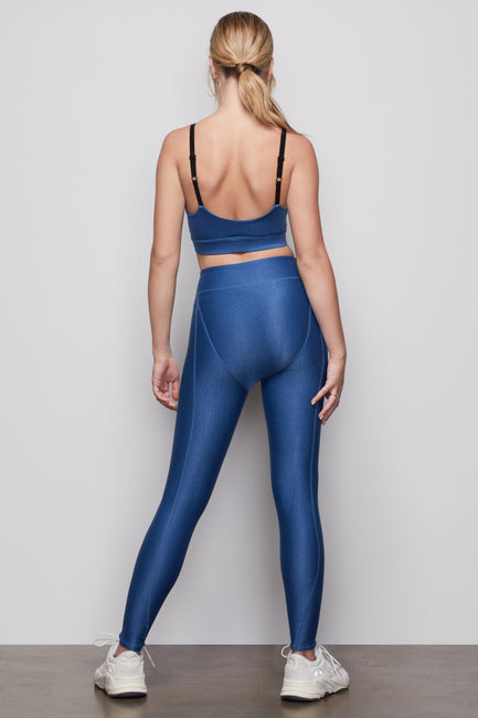THE FAB RIB LEGGING | WASHED NAVY001