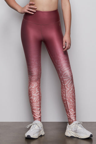 THE OMBRE LEGGING | WILD HIBISCUS001