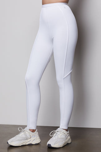 THE CORSET LEGGING | WHITE001