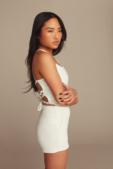 VACAY PLAYSUIT | WHITE001