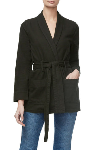 THE WRAP JACKET | OLIVE008