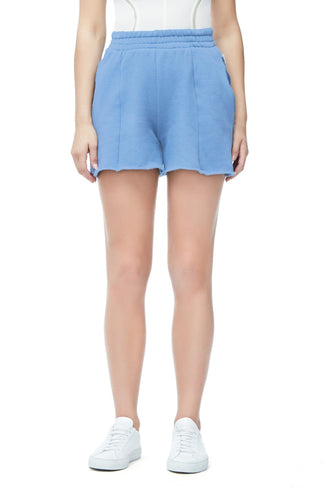 THE HIGH WAIST SHORTS | BLUE001