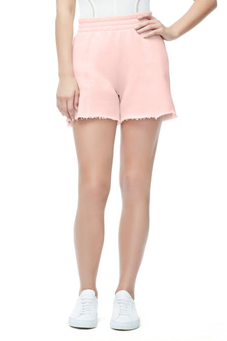 THE HIGH WAIST SHORTS | BLUSH001