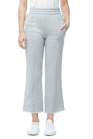 THE HIGH WAIST FLARED PANT | GREY001