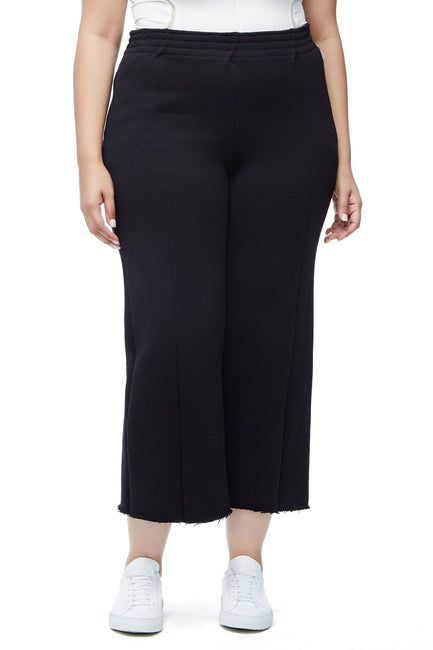 Good American The High Waist Flared Pant | Black001