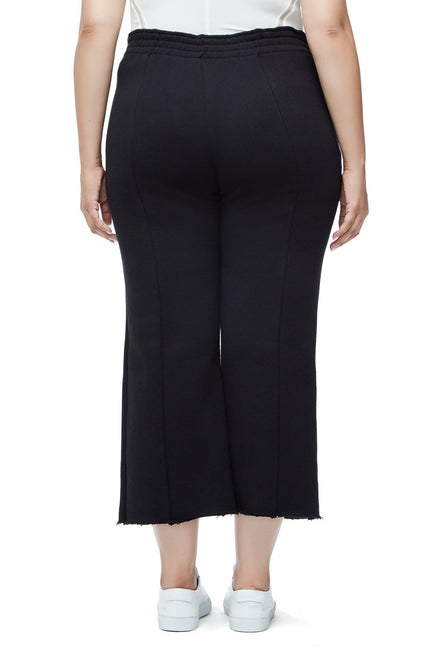 THE HIGH WAIST FLARED PANT | BLACK001
