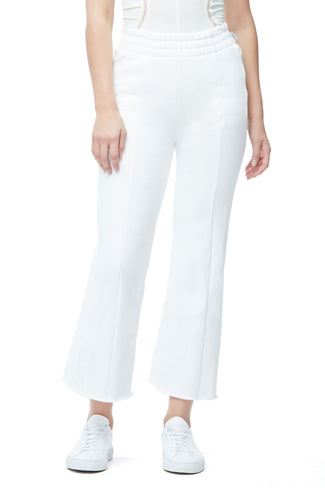 THE HIGH WAIST FLARED PANT | WHITE001