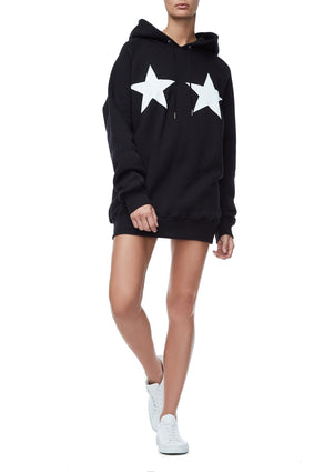 GOODIES STARS AND STRIPES HOODIE | BLACK002