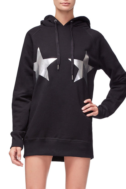 THE STARS AND STRIPES HOODIE | BLACK003