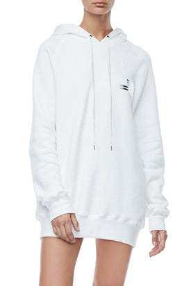 GOODIES ICON HOODIE | WHITE002