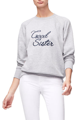 THE GOOD SISTER SWEATER | GREY001