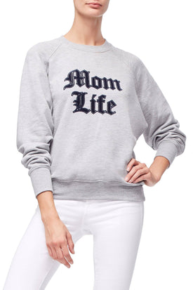THE MOM LIFE SWEATER | GREY001