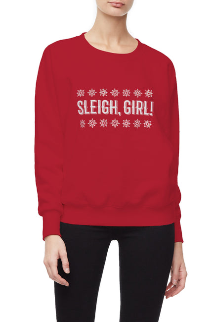 SLEIGH GIRL | RED001