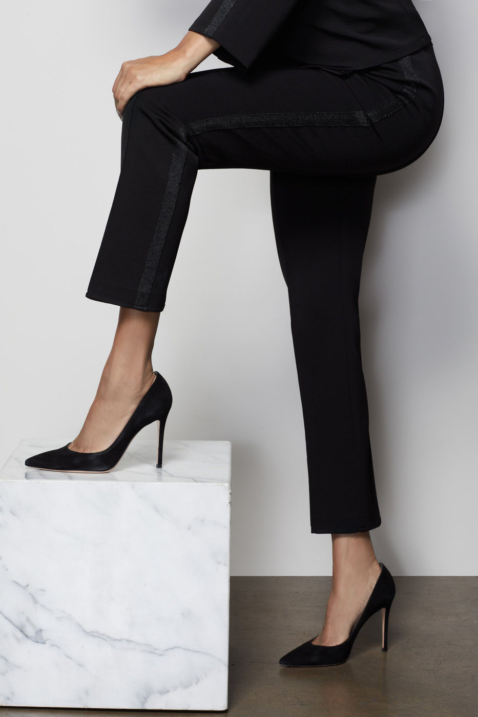 THE GLAM SUIT PANT | BLACK001