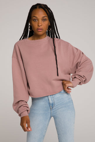 CROPPED & COOL SWEATSHIRT | DUSK001